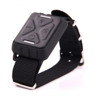 large2 rf wrist remote control watch for gitup git1 action camera black